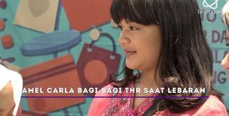 Jelang lebaran, Amel Carla siapkan uang receh untuk dibagi-bagikan.