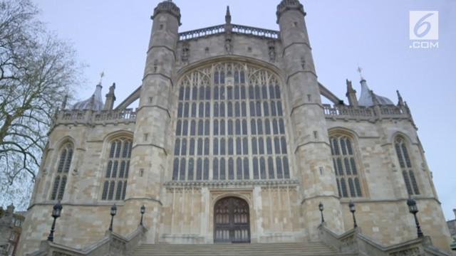 St. George's Chapel menjadi lokasi pernikahan Pangeran Harry dan Meghan Markle.