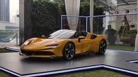 Ferrari SF 90 Resmi Jadi Mainan Baru Orang Kaya di Indonesia (Arief A/Liputan6.com)
