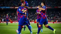 Barcelona meraih kemenangan dengan skor 5-1 atas Real Valladolid. (dok. Barcelona)
