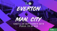 Premier League - Everton Vs Manchester City (Bola.com/Adreanus Titus)