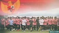 Timnas Indonesia U-19 (Bola.com/Adreanus Titus)