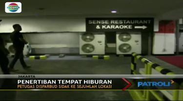 Dinas Pariwisata dan Kebudayaan (Disparbud) DKI Jakarta menemukan sejumlah tempat hiburan di Jakarta yang tidak memiliki surat izin usaha.