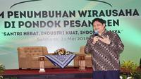 Menteri Perindustrian, Airlangga Hartarto. (liputan6.com/Wilfridus Setu Umbu).
