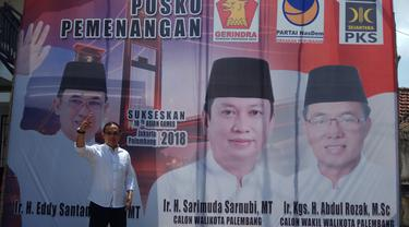 Transmusi Buat Mantan Wako Palembang Enggan Dukung Paslon Incumbent