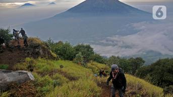 FOTO: Pendakian Gunung di Masa Pandemi