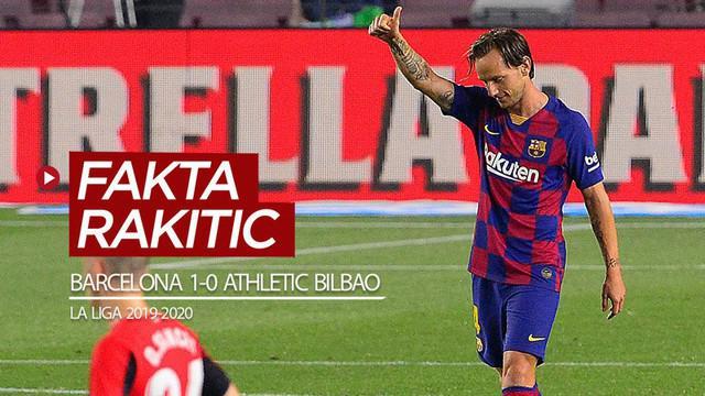 Berita video fakta-fakta soal Ivan Rakitic setelah mengantarkan Barcelona meraih kemenangan 1-0 atas Athletic Bilbao pada pekan ke-31 La Liga 2019-2020, Rabu (24/6/2020) dini hari WIB.