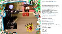 Perkembangan dunia teknologi berperan penting dalam segala aspek kehidupan, termasuk industri fashion. Terbukti dari rumah mode Dolce & Gabbana membuat kejutan dengan teknologi di atas panggung fashion show. (Foto: Instagram @dolcegabbana)