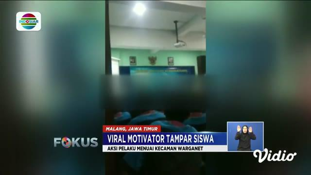 Baru-baru ini viral di media sosial, seorang motivator menampar sejumlah siswa sekolah menengah kejuruan (SMK) di Malang, Jawa Timur. Para siswa menerima tamparan saat motivator tengah mengisi sesi materi.