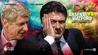 Arsenal vs Watford (Liputan6.com/Abdillah)