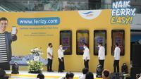 Ferizy merupakan layanan tiket berbasis online yang dapat diakses oleh pengguna jasa melalui website www.ferizy.com atau aplikasi di ponsel.