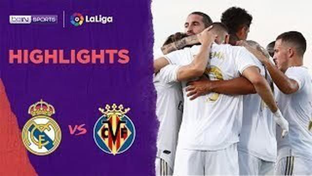 Berita Video 2 Gol Karim Benzema ke Gawang Villarreal yang Antarkan Real Madrid Juara La Liga