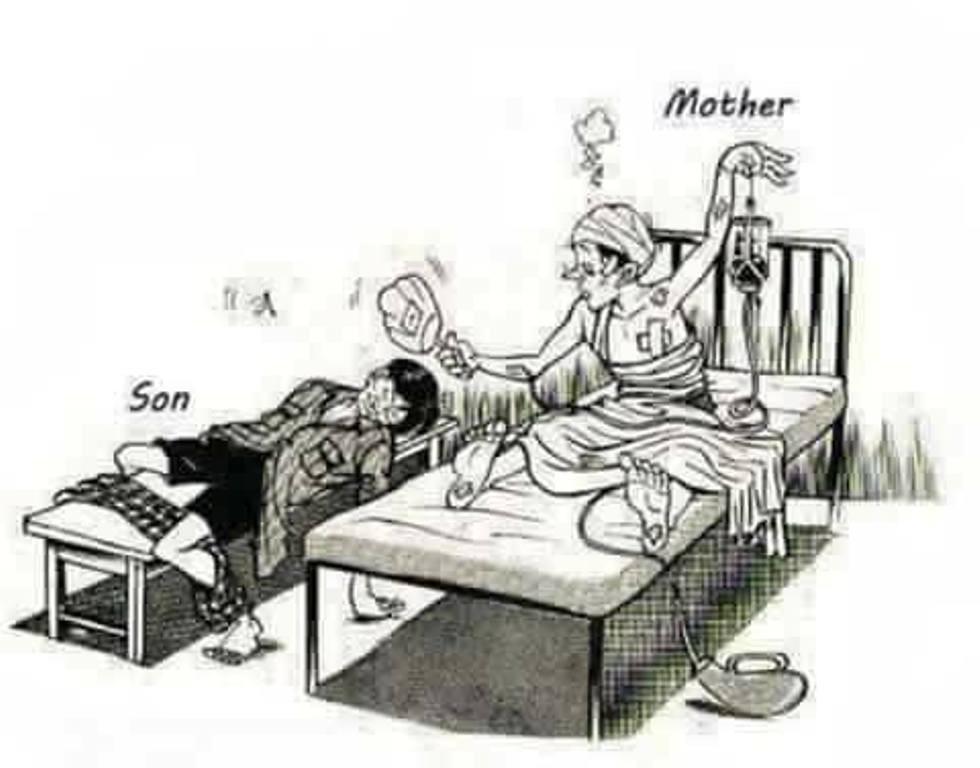 5 Gambar Yang Nggak Biasa Ini Buat Kamu Makin Sayang Orangtua Lifestyle Fimela Com