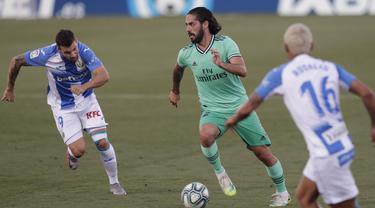 FOTO: Laga Pamungkas La Liga, Real Madrid Ditahan Imbang Leganes