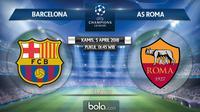 Liga Champions_Barcelona vs AS Roma (Bola.com/Adreanus TItus)