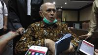 Terdakwa kasus kepemilikan senjata api ilegal Purnawirawan Jenderal TNI Kivlan Zen di Pengadilan Negeri Jakarta Pusat, Kamis (3/10/2019). (Liputan6.com/Ady Anugrahadi)