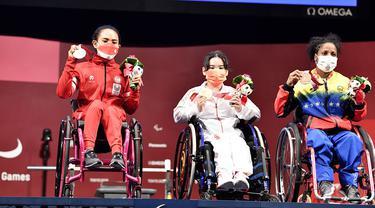 Foto: Ni Nengah Widiasih Sumbang Medali Pertama Indonesia di Paralimpiade Tokyo 2020