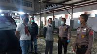 Pelaku penyerangan terhadap perawat di Bandara Soetta diamankan polisi. (Merdeka.com)