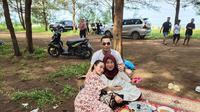Momen Liburan Zaskia Gotik Bersama Keluarga Besar Suami. (Sumber: Instagram.com/sirajuddinmahmudsabang)