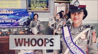 Foto Polwan cantik asal Ciamis, Jawa Barat menghebohkan netizen. Bahkan banyak yang menganggap mirip Raisa. Bagaimana menurut kamu?