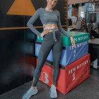Cinta Laura meluangkan waktu untuk berolahraga (Dok.Instagram/@claurakiehl/https://www.instagram.com/p/B7w2IRilKke/Komarudin)