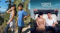 6 Editan Foto Pria Bareng Maudy Ayunda Ini Bikin Ketawa Geli (sumber: Instagram/victorahmadd/srdesignart)