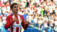 Striker Atletico Madrid asal Prancis, Antoine Griezmann. (AFP/Gerard Julien)