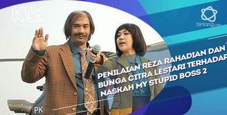 Reza Rahadian dan BCL memberikan komentar dan penilaiannya terhadap naskah My Stupid Boss 2.