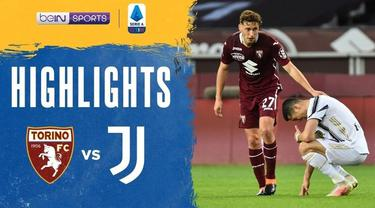 Berita video highlights laga Liga Italia 2020/2021 pekan ke-29, di mana Torino bermain imbang 2-2 melawan Juventus, Sabtu (3/4/2021) malam hari WIB.