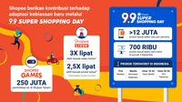 Shopee 9.9 Super Shopping Day.