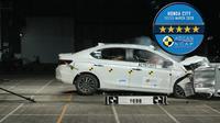 Mendapat nilai terbaik, Honda City generasi ke-5 menjadi kendaraan dengan peringkat keselamatan tertinggi oleh ASEAN NCAP (New Car Assessment Program) untuk Asia Tenggara.