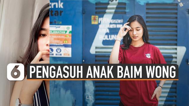 Wanita ini diperkenalkan Baim Wong sebagai babysitter sang putra, Kiano Tiger Wong.