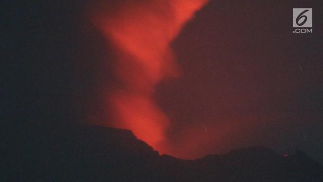 Pvmbg Lava Semakin Banyak Gunung Agung Berpotensi Meletus Lagi