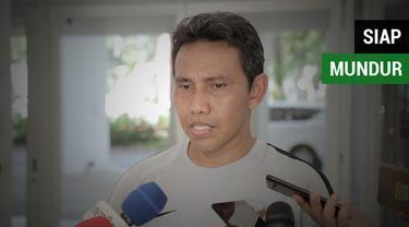 Berita video komentar Pelatih Timnas Indonesia, Bima Sakti, yang siap untuk mundur dari jabatannya setelah kegagalan Tim Garuda di Piala AFF 2018.