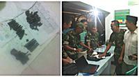 Penemuan sejumlah amunisi di Makassar. (Eka Hakim/Liputan6.com)