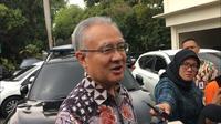 Duta Besar Jepang untuk Indonesia Ishii Masafumi bertemu Mahfud Md. (Liputan6.com/Lizsa Egeham)