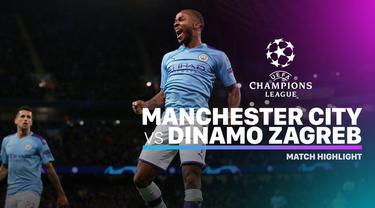 Berita video highlights Grup C Liga Champions 2019-2020 antara Manchester City melawan Dinamo Zagreb yang berakhir dengan skor 2-0, Selasa (1/10/2019).