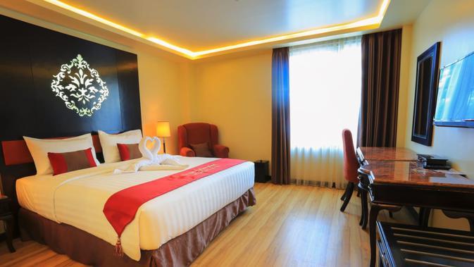 Fasilitas Hotel Grand Baleim Wamena di Kabupaten Jayawijaya (Liputan6.com/Katharina Janur/Tarsi)