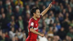 Sebagai pemain muda, pemampilan Kubo musim ini cukup impresif dengan catatan empat gol dan lima asis. (Foto/La Liga)