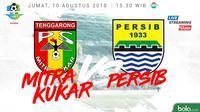 Jadwal Liga 1 2018 pekan ke-20, Mitra Kukar vs Persib Bandung. (Bola.com/Dody Iryawan)