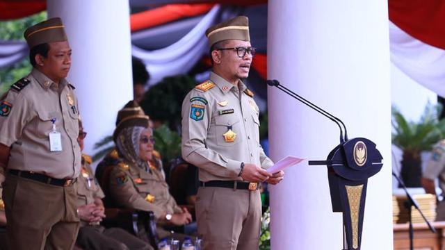 Menaker Hanif Canangkan Peringatan Bulan K3 Nasional 2018