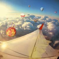 Window seat di pesawat terbang. (Shutterstock)