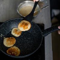 ilustrasi pancake/copyright Unsplash/Ieva Vizule