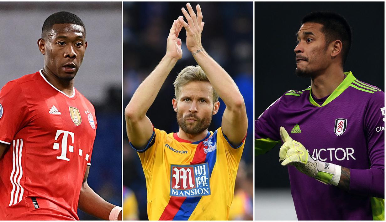 Foto kolase pemain top Eropa yang mempunyai garis keturunan Asia. (Foto: AFP)