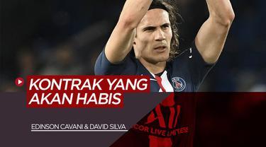 Berita Video tentang Edinson Cavani dan David Silva yang kontraknya akan segera habis ditahun 2020