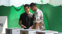 Putra sulung Presiden Jokowi masuk dalam bursa calon Wali Kota Solo berdasarkan hasil survei yang dilakukan Unisri.(liputan6.com/Fajar Abrori)