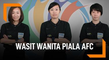 Sejarah Baru Asia, Wasit Wanita Pimpin Laga Piala AFC