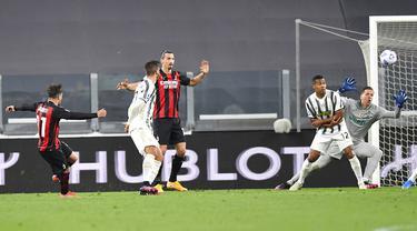 FOTO: Menang Telak, AC Milan Gusur Juventus dari Empat Besar Klasemen Liga Italia