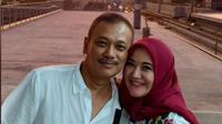 Shanty, istri mendiang Sys NS, dan suami barunya, Syaiful (https://www.instagram.com/p/BvjlbqHAb5S/)