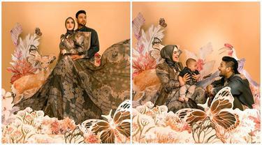 Kompak Banget, Intip 5 Potret Keluarga Ammar Zoni dan Irish Bella bertema Flora Fauna